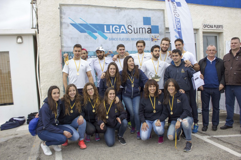 Podium Regatas Alicante absoluto2